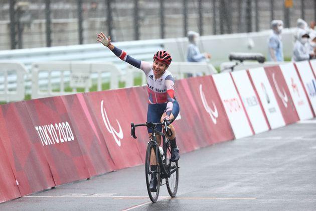 Dame Sarah Storey riding her way to her 17th gold