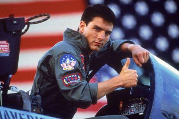 Tom Cruise sur le tournage de