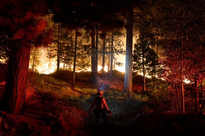 Fire crews from around the country have been fighting the Caldor Fire, which was just 23% contained after destroying at least