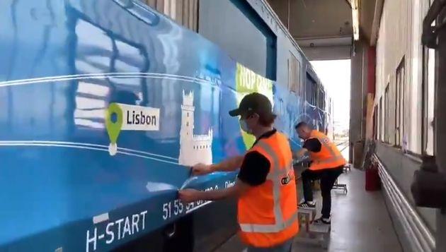 Το Connecting Europe Express θα περάσει και...