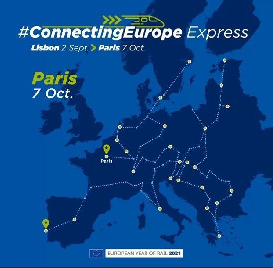 Το Connecting Europe Express θα περάσει και από την