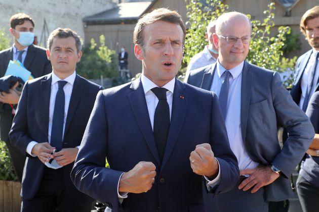 Macron vole au secours de Blanquer sur l'allocation de rentrée (photo prise le 22 juillet