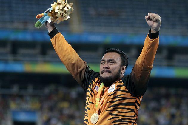 Foto della premiazione a Rio