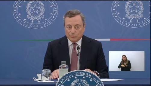 La conferenza stampa del presidente del Consiglio Mario Draghi - 2 settembre 2021