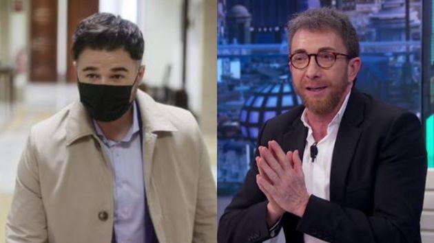 Gabriel Rufián y Pablo