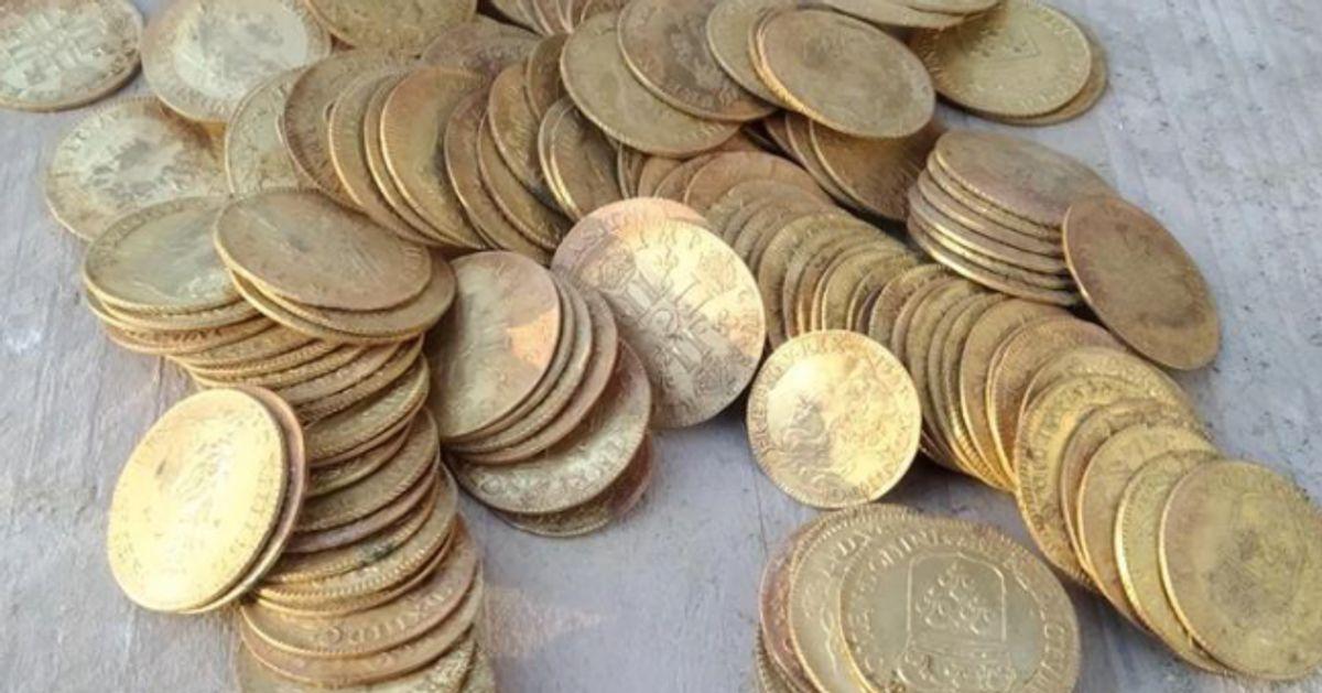 Un trésor de 239 pièces d'or découvert dans un manoir du Finistère