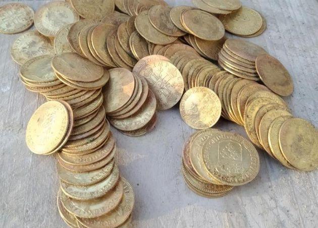 Les 239 pièces d'or seront vendues le 29 septembre
