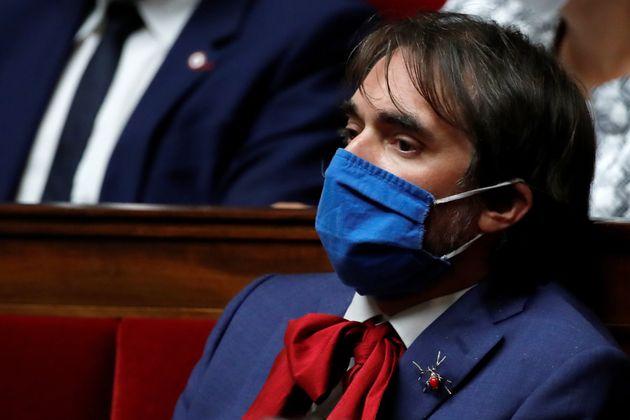 Cédric Villani lors d'une séance à l'Assemblée nationale en juin