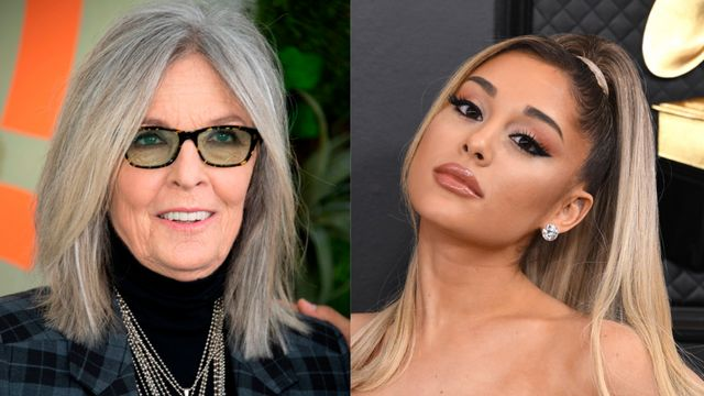 Ariana Grande Has 'Out Of Body Experience' With Diane Keaton.jpg
