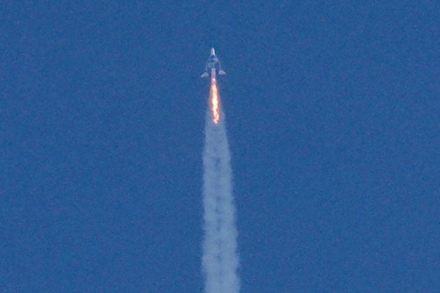 Le vol de Richard Branson vers l'espace en juillet ne s'est pas déroulé aussi bien qu'annoncé...