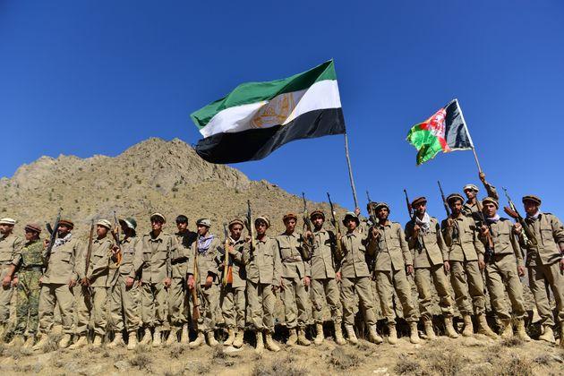 The anti-Taliban resistance movement in Panjshir