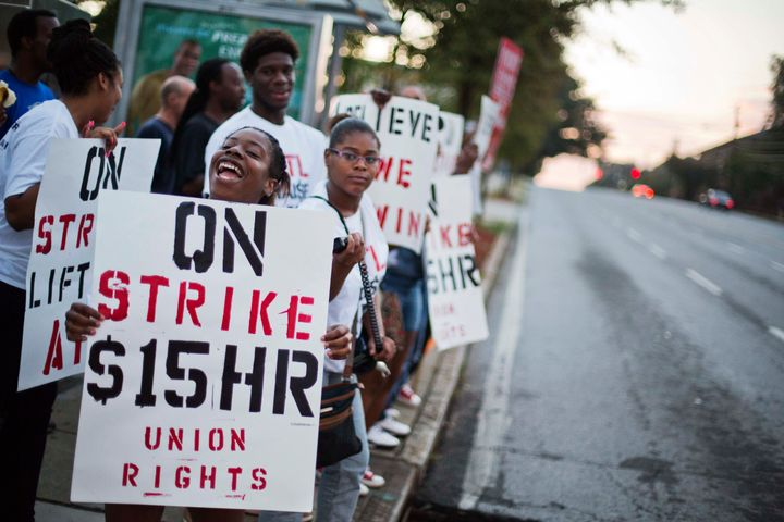 Unions have been gaining in popularity, but the union membership rate is still near a historic low.