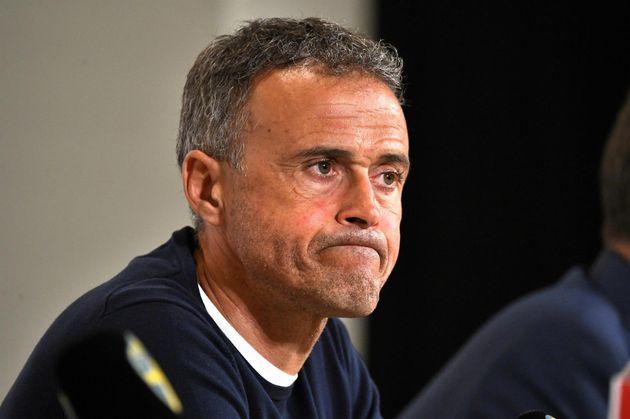 Luis Enrique tras perder España contra Suecia