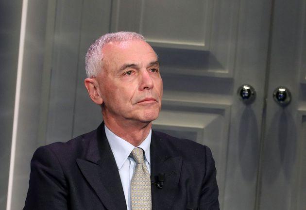 ROME, ITALY - MARCH 16: Italian microbiologist Giorgio Palù attends