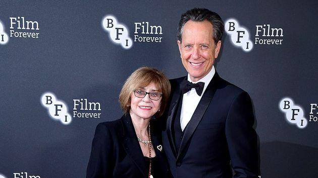 Richard E Grant and his wife, Joan