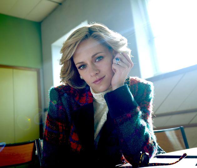 Kristen Stewart in character as Princess