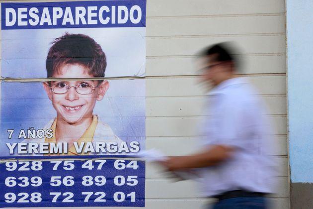 Yéremi Vargas despareció en 2007 en Gran