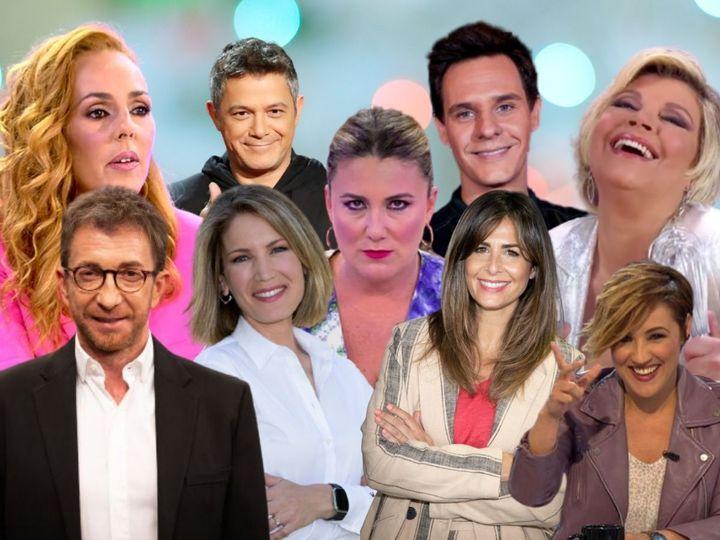 Algunos populares rostros televisivos