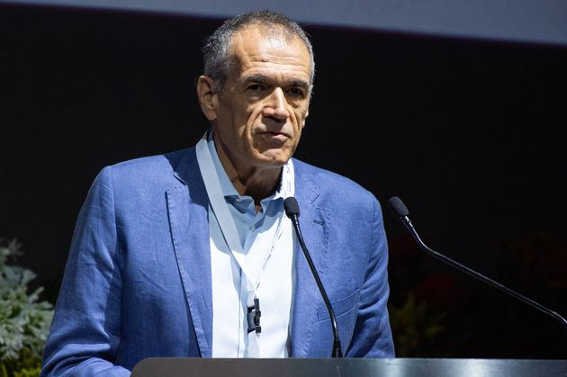 SORRENTO, ITALY - JULY 01: Carlo Cottarelli economist attends the event