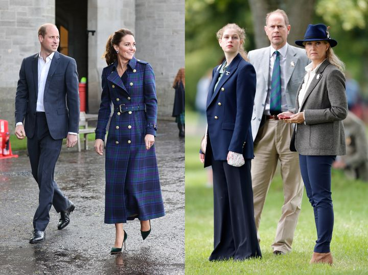 Members of the British royal family have sported their fair share of dark academia pieces.