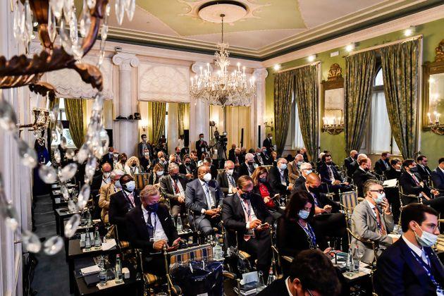 03/09/2021 Cernobbio, Villa D Este, The European House Ambrosetti, Forum Intelligence on the World Europe,...
