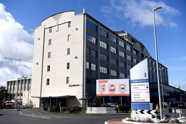L'hôpital Middlemore à Auckland, en Nouvelle-Zélande, le 27 août