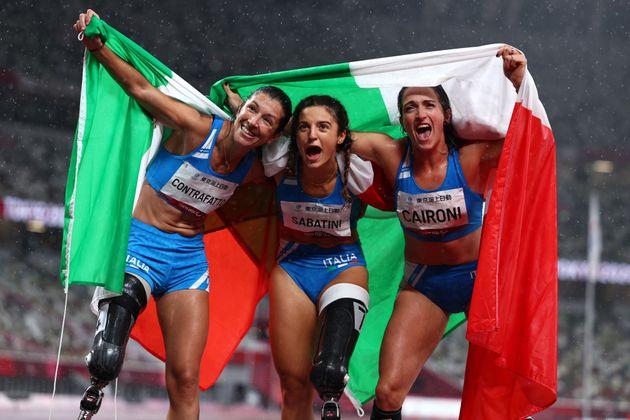 Tokyo 2020 Paralympic Games - Athletics - Women's 100m - T63 Final - Olympic Stadium, Tokyo, Japan -...