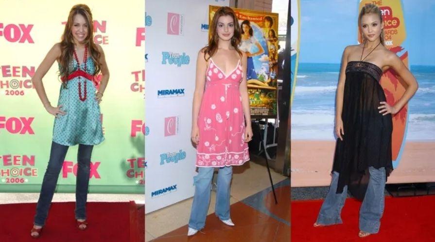 2000년대 초반 할리우드 스타들의 패션