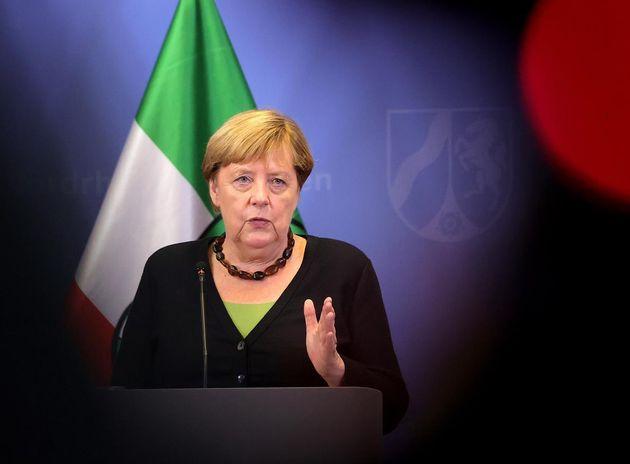 La canciller de Alemania, Angela