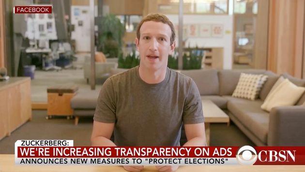 2019年、Facebookのマーク・ザッカーバーグ氏のディープフェイク動画も話題になった。