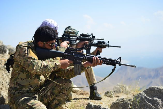 Afghan resistance movement in the Panjshir province on September 1,