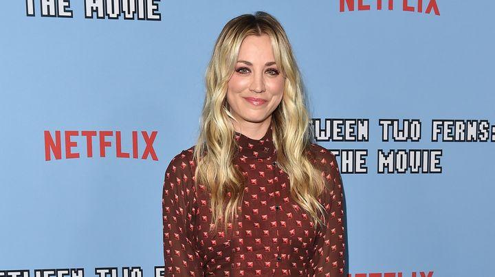 Kaley Cuoco en la premiere de la película 'Between Two Ferns' de Netflix.