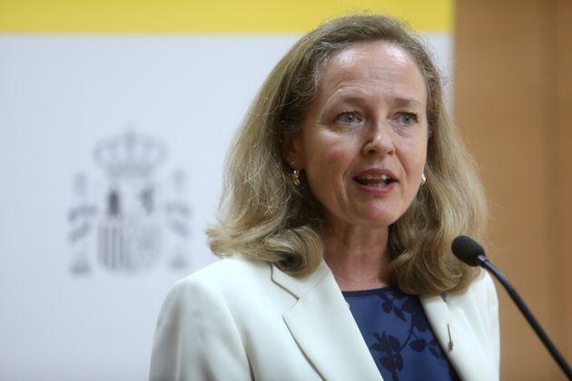 Nadia Calviño, el pasado 17 de agosto, en