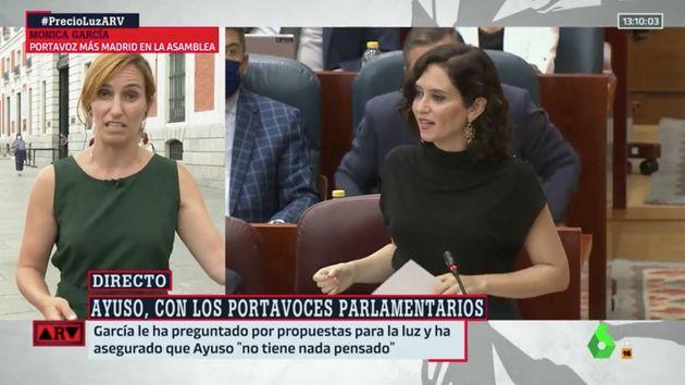 Mónica García en 'Al Rojo