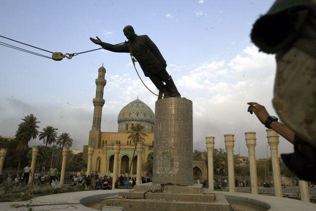Ιράκ - Η αποκαθήλωση του Σαντάμ