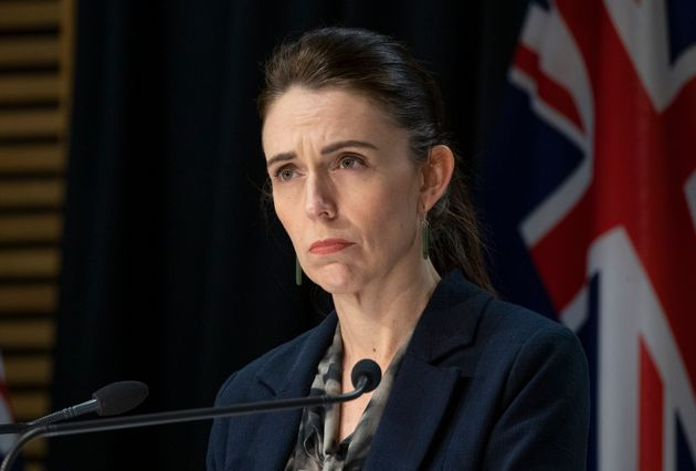 WELLINGTON, NEW ZEALAND - SEPTEMBER 04: Prime Minister Jacinda Ardern during a press conference in Parliament...