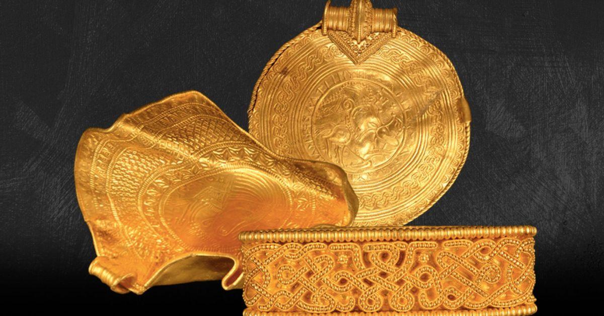Un trésor en or pré-Viking découvert par un archéologue amateur au Danemark