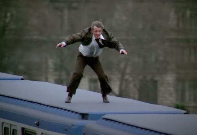 La scène du métro avec Jean-Paul Belmondo dans le film