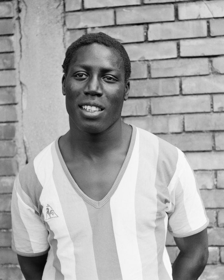 French soccer player Jean-Pierre Adams.