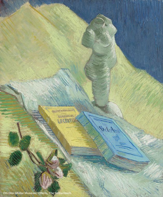フィンセント・ファン・ゴッホ 《石膏像のある静物》
