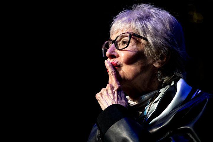 Concha Velasco, en la presentación de la temporada de teatro de Pentación el 10 de septiembre de 2020 en Madrid.