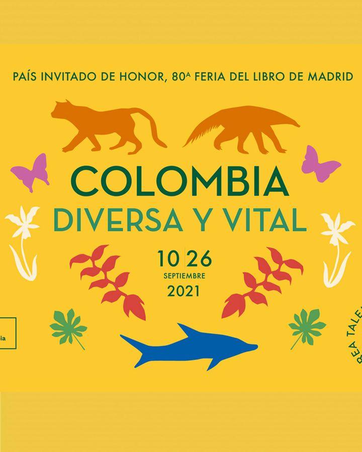 Cartel para la Feria del libro de Madrid