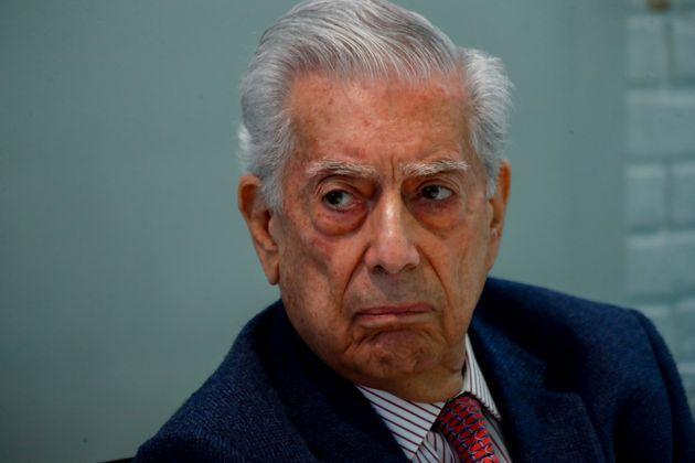 Mario Vargas Llosa en la presentación del libro 'Sin complejos' el 21 de mayo de 2021en
