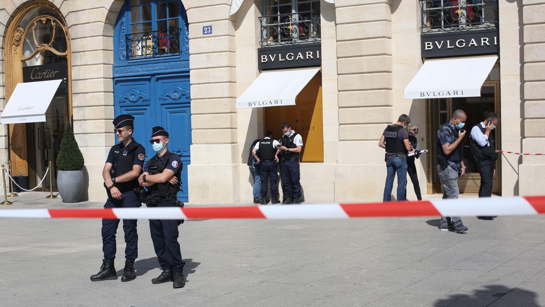 Une bijouterie braquée place Vendôme, des suspects interpellés après une course-poursuite