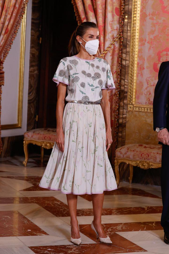 La reina, este martes en el Palacio Real