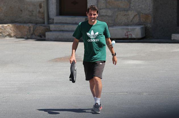 Iker Casillas, en