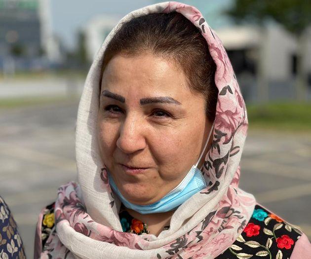 Blind Afghan activist Benafsha