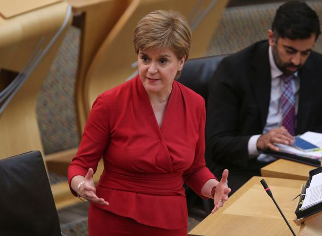 Nicola Sturgeon also outlined plans to establish a national care service to tackle the social care