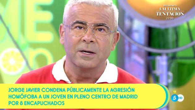 Jorge Javier Vázquez, este martes en