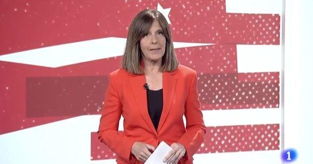 Ana Blanco, en el